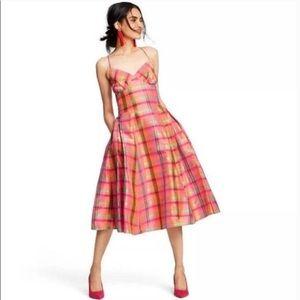 Isaac Mizrahi for Target plaid dress